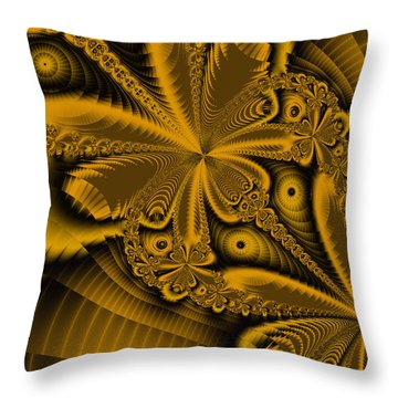 Throw Pillow featuring the digital art Paths Of Possibility by Elizabeth McTaggart