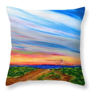 Paths To Independance Throw Pillow