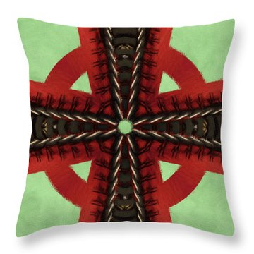 Pathway To Knowledge Throw Pillow by Jeff Kolker