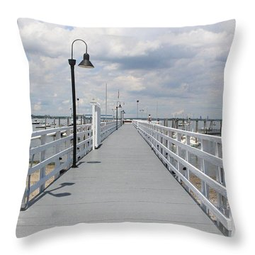 Pathway To The Clouds Throw Pillow