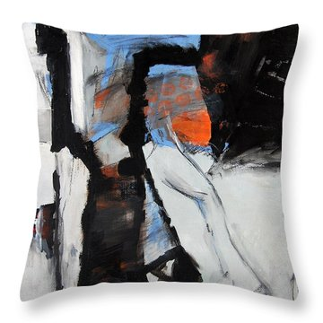 Pathways Throw Pillow by Ron Stephens