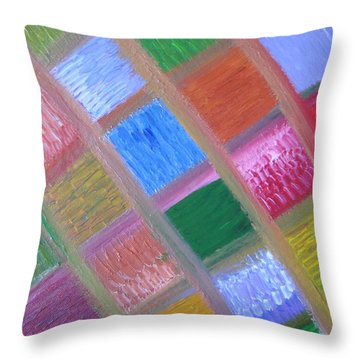 Patience And Peace Throw Pillow