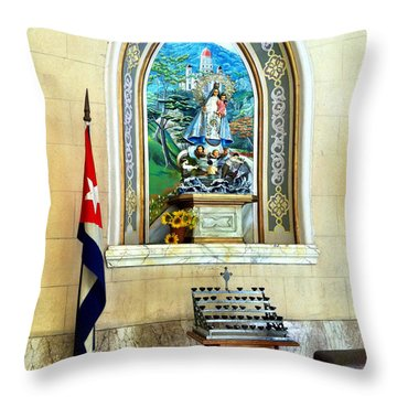 Patria Throw Pillow