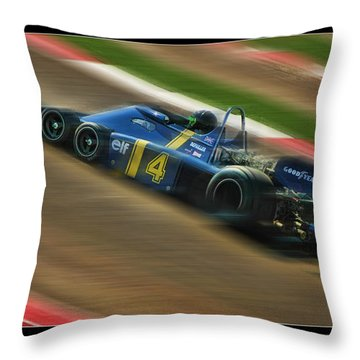 Patrick Depailler Throw Pillow