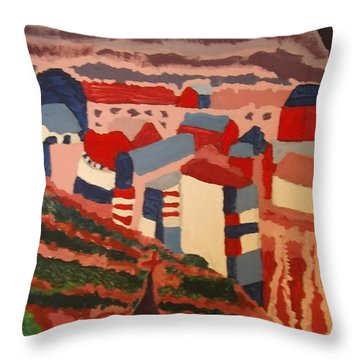 Patriot Farm Throw Pillow