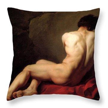 Patroclus Throw Pillow