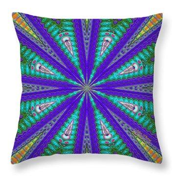 Pattern 37 Throw Pillow