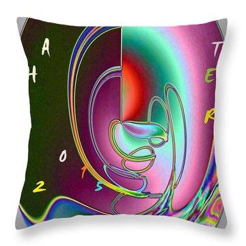 Pattern 55 Throw Pillow