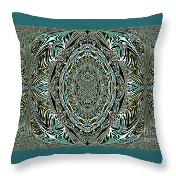 Throw Pillow featuring the photograph Pattern. Art For Home And Office by Oksana Semenchenko