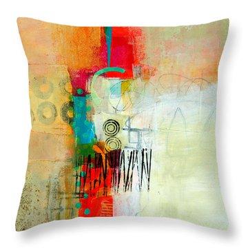 Pattern Study #1 Throw Pillow by Jane Davies