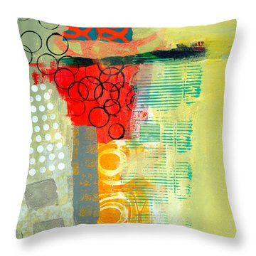 Pattern Study #3 Throw Pillow by Jane Davies