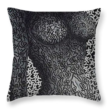 Patterned  Scent Throw Pillow