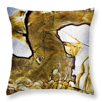 Patterns In Stone - 153 Throw Pillow