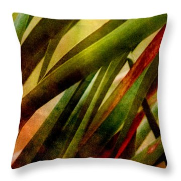 Patterns In Nature No.3 Throw Pillow by Bonnie Bruno