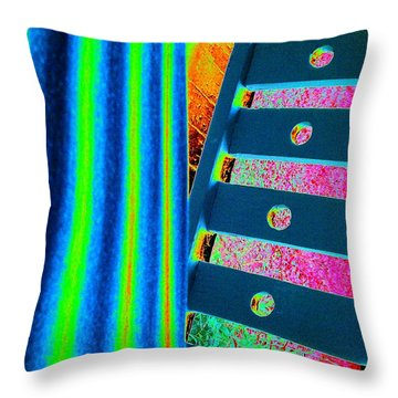 Patterns Throw Pillow by Jacqueline McReynolds