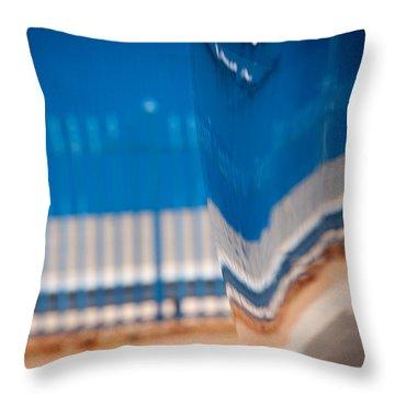 Patterns Throw Pillow by Paul Job