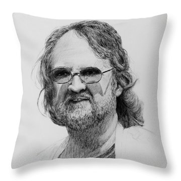 Paul Rebmann Throw Pillow by Daniel Reed