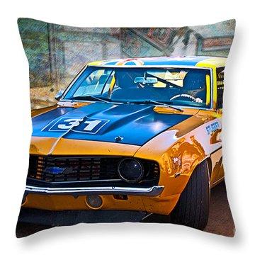 Paul Stubber Camaro Throw Pillow