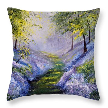 Pavilioned In Splendor Throw Pillow