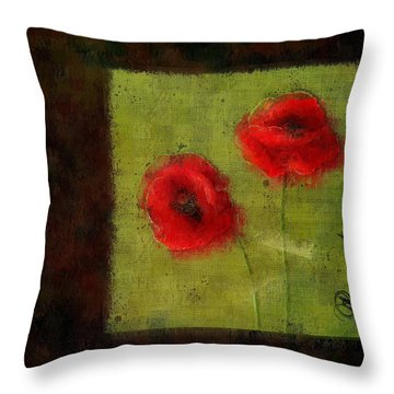 Pavot - 027023173-bl01 Throw Pillow