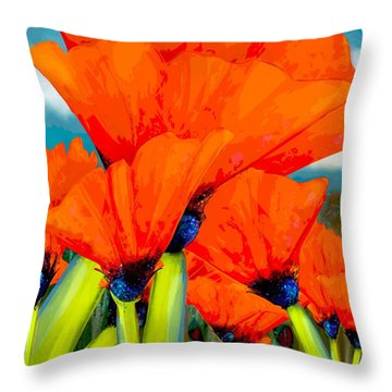 Pavot Throw Pillow