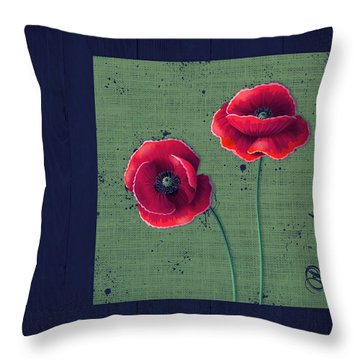 Pavot - S01c08a Throw Pillow