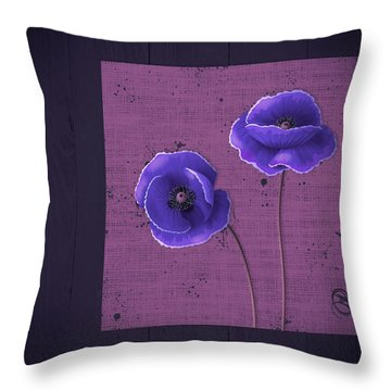 Pavot - S01c09a Throw Pillow