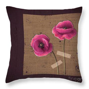 Pavot - S02c11b Throw Pillow