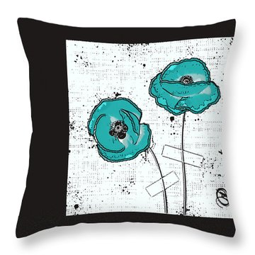 Pavot - S05-02a Throw Pillow