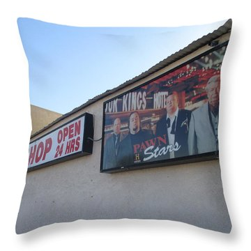 Pawn Stars Throw Pillow by Kay Novy