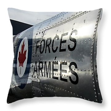 Paying Respects  At Cwh Throw Pillow by Danielle  Parent