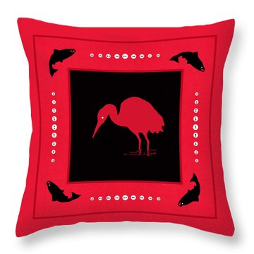 Throw Pillow featuring the photograph Peace And Plenty Button Blanket by I'ina Van Lawick
