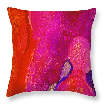 Throw Pillow featuring the painting Peace by Angela Treat Lyon
