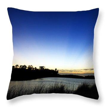 Peace Throw Pillow by Beverly Stapleton