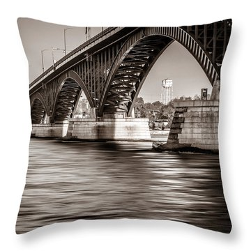 Peace Bridge Throw Pillow