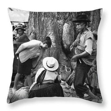 Peace Corps - Peru Throw Pillow by Granger