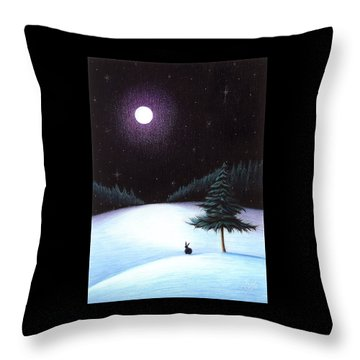 Peace Throw Pillow by Danielle R T Haney