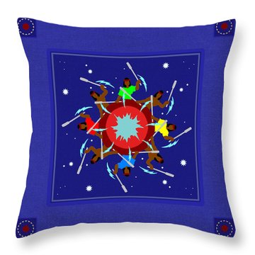 Throw Pillow featuring the photograph Peace Drum by I'ina Van Lawick