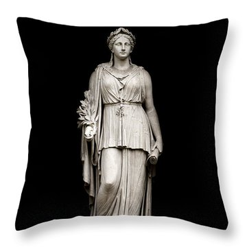 Throw Pillow featuring the photograph Peace by Fabrizio Troiani