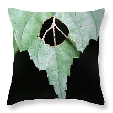 Peace For The Planet Throw Pillow
