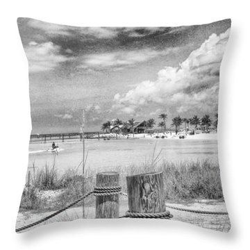 Throw Pillow featuring the photograph Peace by Howard Salmon