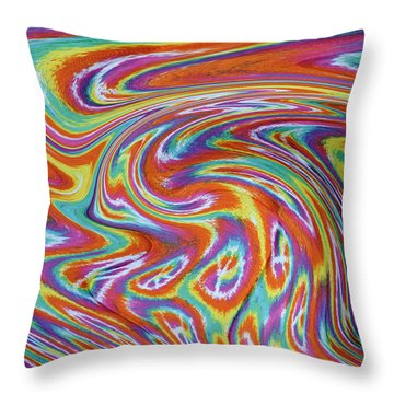 Peace Throw Pillow by Kenny Francis