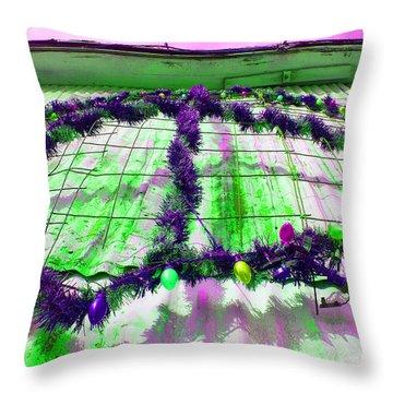 Throw Pillow featuring the photograph Peace Lights 1 by Minnie Lippiatt