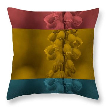 Throw Pillow featuring the digital art Peace Love And Understanding by Holley Jacobs