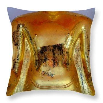 Peace Mudra Throw Pillow