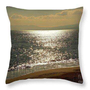 Peace Of Mind... Throw Pillow