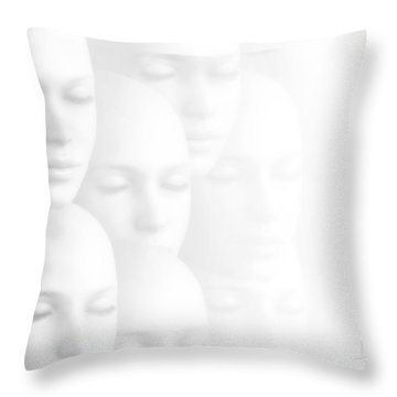 Peace Of Mind Throw Pillow by Jacky Gerritsen