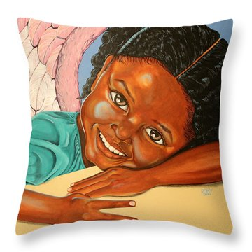 Peace Throw Pillow by William Roby
