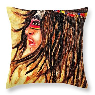 Peace Within  Throw Pillow