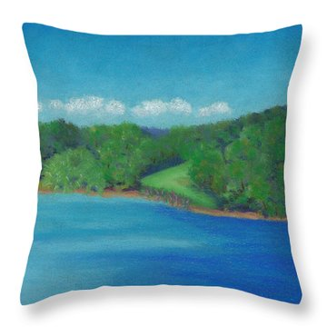 Peaceful Beginnings Throw Pillow